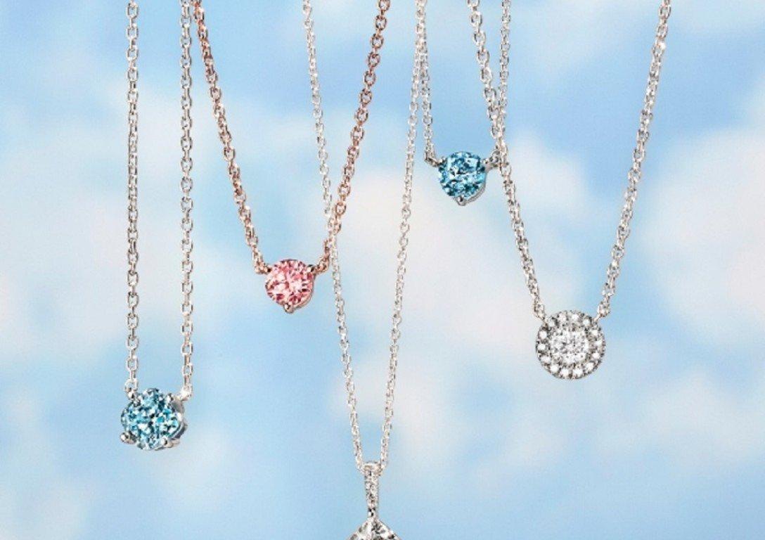彩色培育鑽石